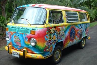 van hippie