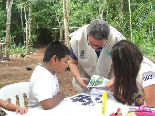Ritz Calton Cancun apoyando a los niños de Leona Vicario