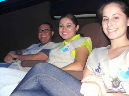 Voluntarios de Ritz Carlton en Planetario
